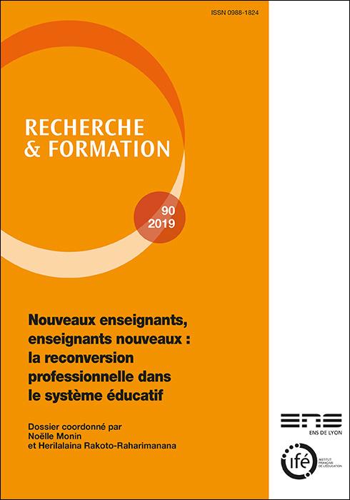 Couverture Recherche et formation, N° 90